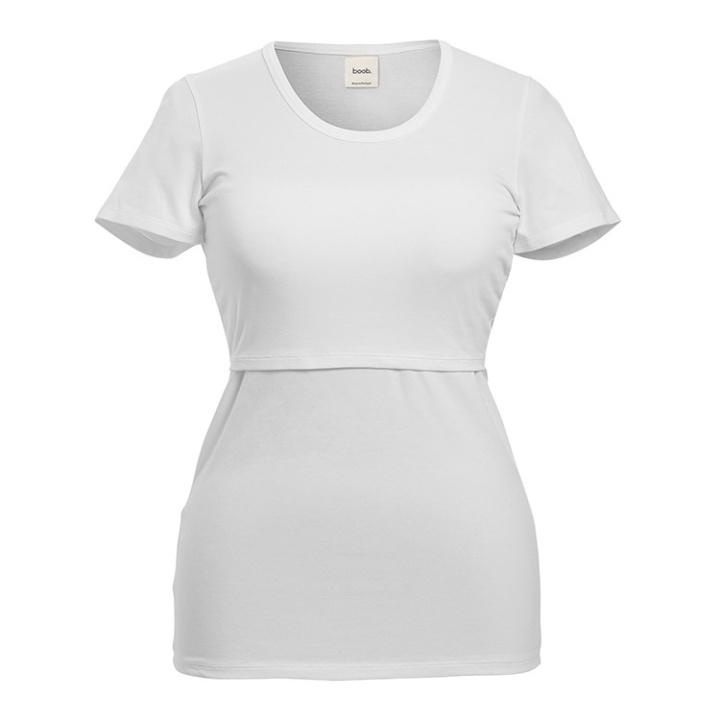 Boob Amningst-shirt Vit - M