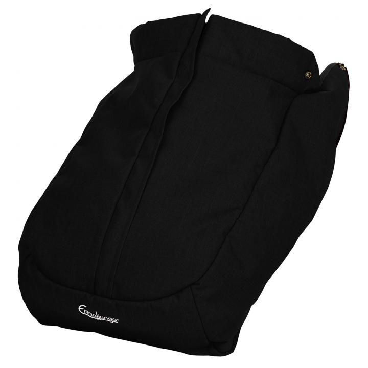 Emmaljunga Fotsack NXT FLAT Outdoor Black 2022