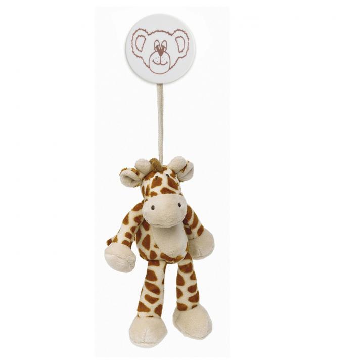 Teddykompaniet Diinglisar Clip/barnvagnshänge Giraff