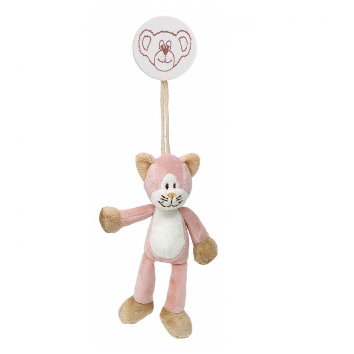 Teddykompaniet Diinglisar Clip/barnvagnshänge Katt