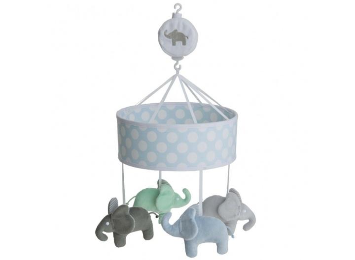 Rätt Start Musikmobil Elefant blå