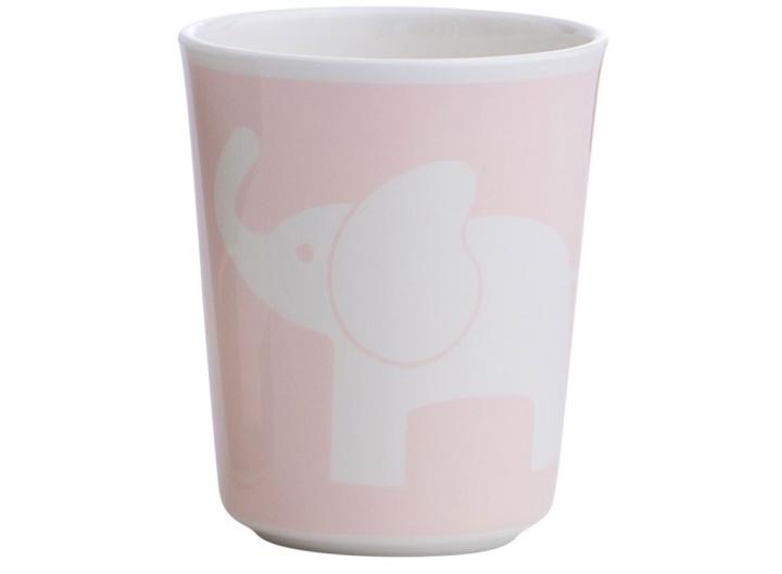 Rätt Start Melaminglas Elefant rosa