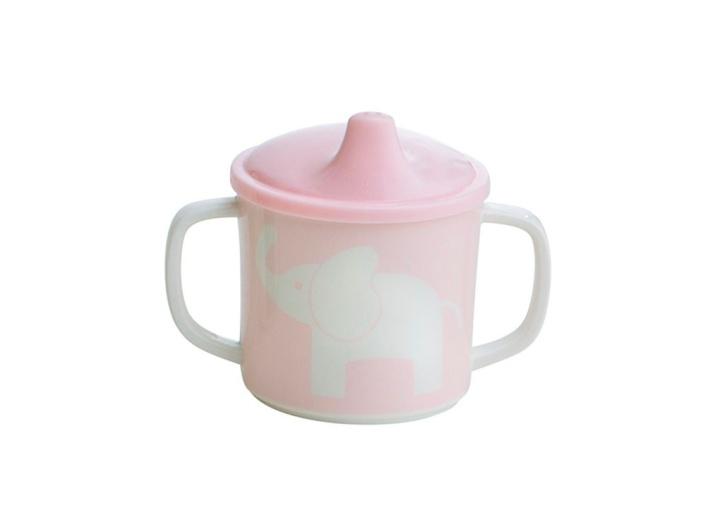 Rätt Start Spill ej Mugg Elefant rosa