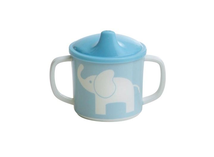 Rätt Start Spill ej Mugg Elefant ljusblå
