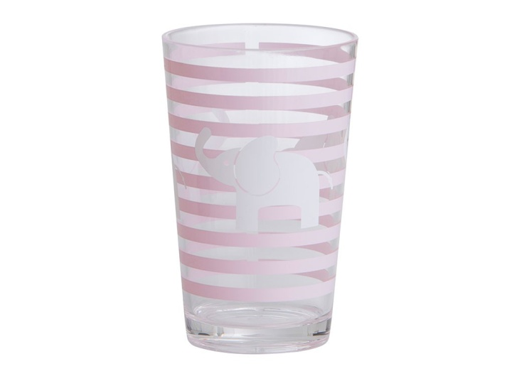 Rätt Start Acrylglas Elefant rosa