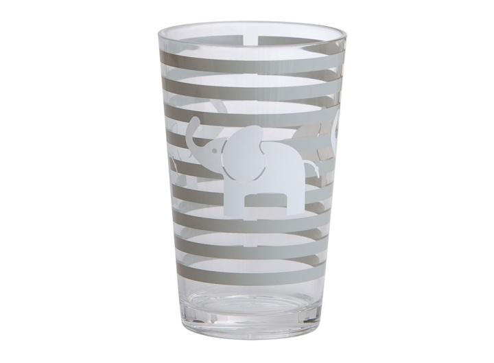 Rätt Start Acrylglas Elefant mörkgrå