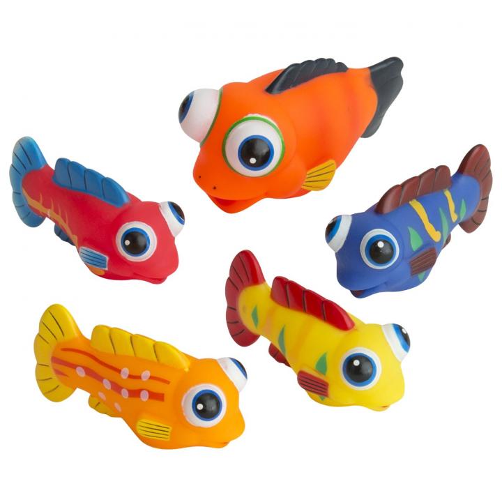 Rätt Start Badleksak Fiskstim 5 delar