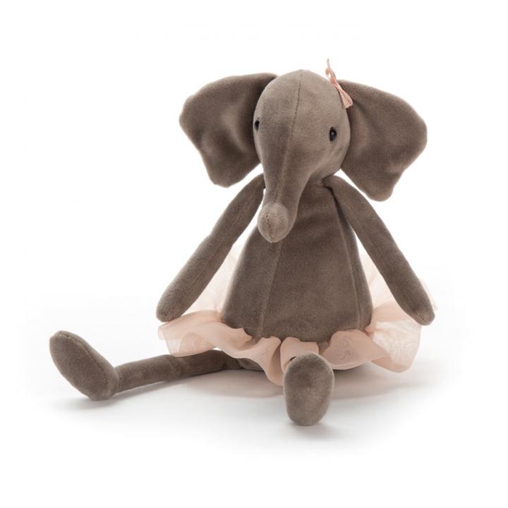 Jellycat Dancing Darcey Elephant Small