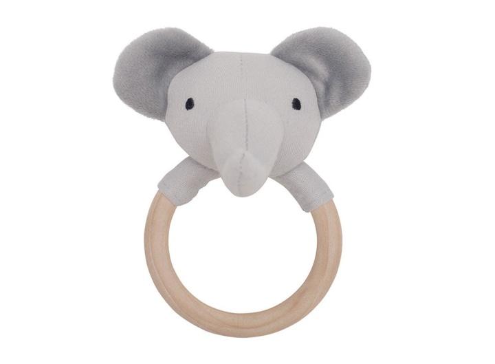 Jabadabado Skallra på träring Elefant