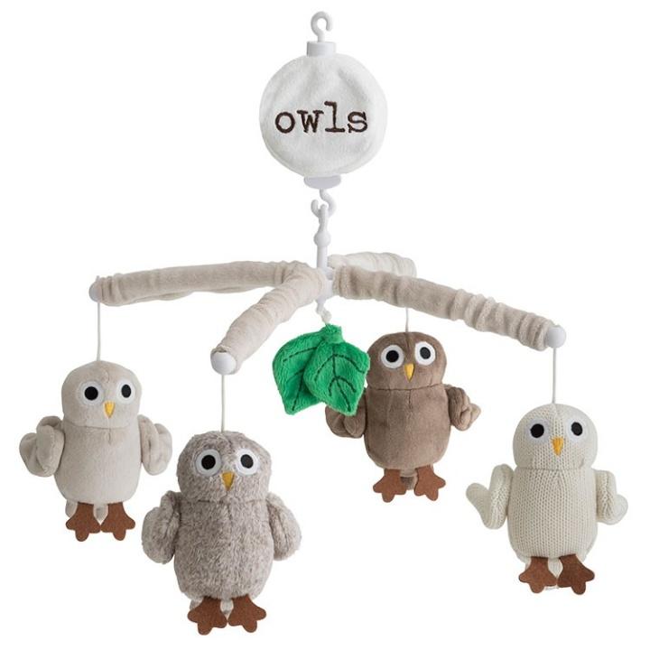 Rätt Start Sängmobil Baby Owls