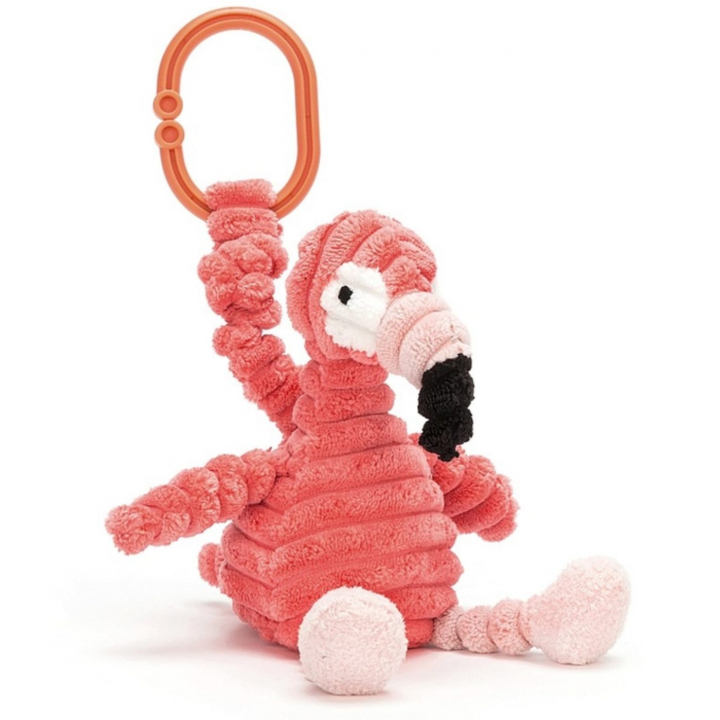 Jellycat Barnvagnshänge Cordy Roy Flamingo Jitter