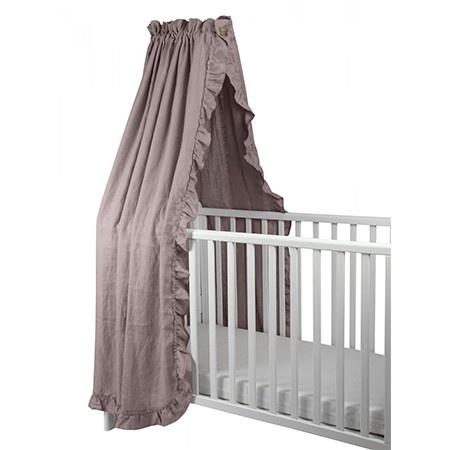 NG Baby Mood Volang Sänghimmel Dusty Pink Vagga/Spjälsäng
