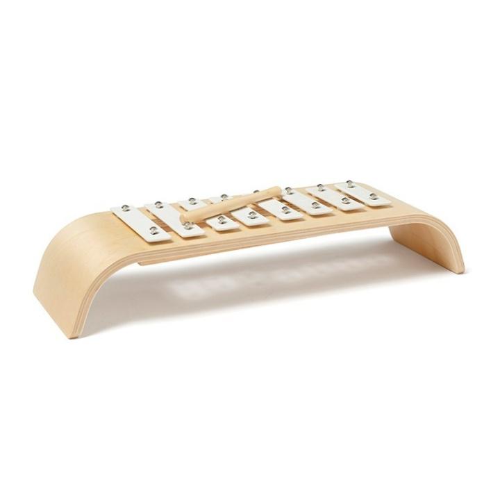 Kids Concept Xylofon Plywood Vit