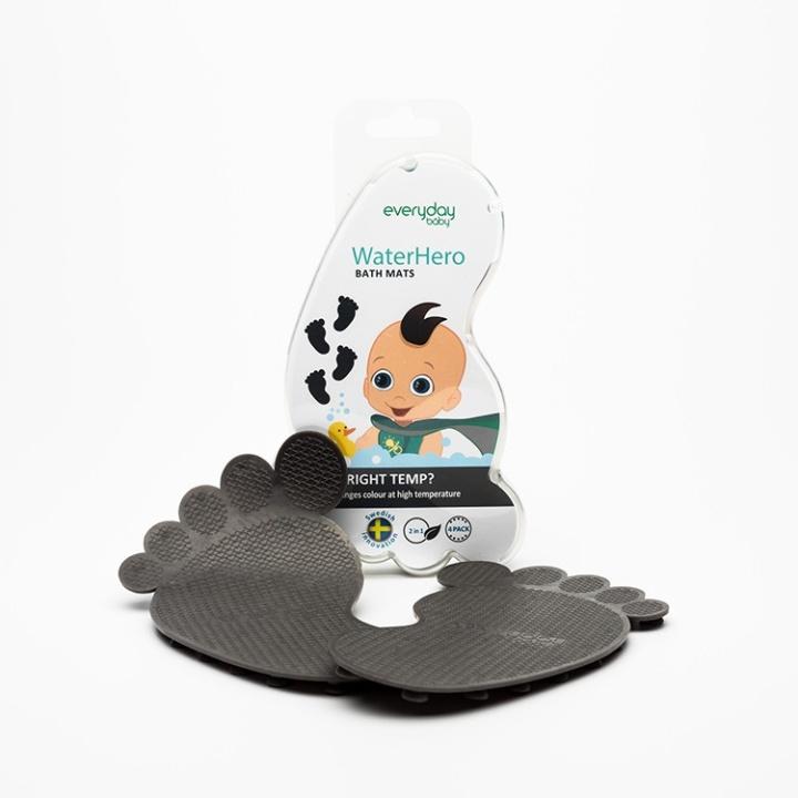 Everyday Baby Badmattor med Värmeindikator 4-p Grå