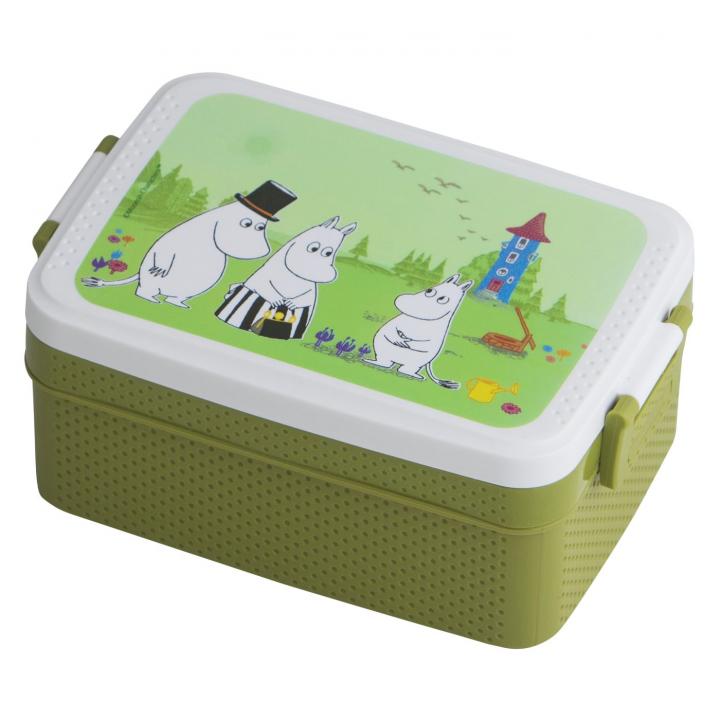 Rätt Start Lunchlåda Mumin Grön