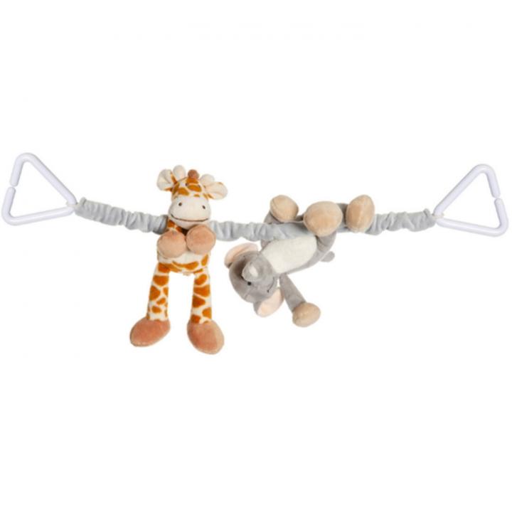 Teddykompaniet Diinglisar Vagnshänge Elefant & Giraff