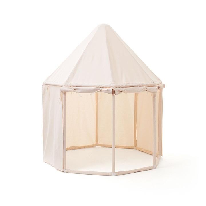 Kids Concept Paviljong-tält naturvit