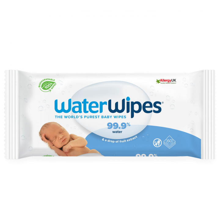 WaterWipes Våtservetter