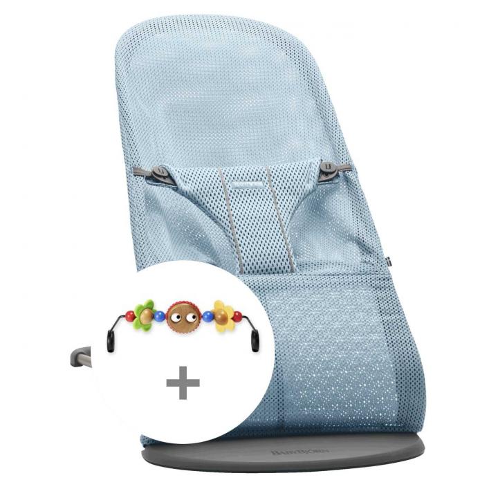Babybjörn Babysitter Bliss Mesh + Leksak Paketpris
